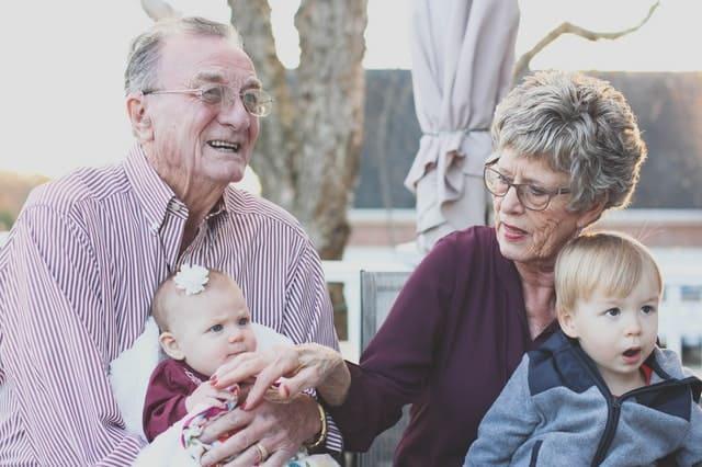 Kontakty wnuków z dziadkami